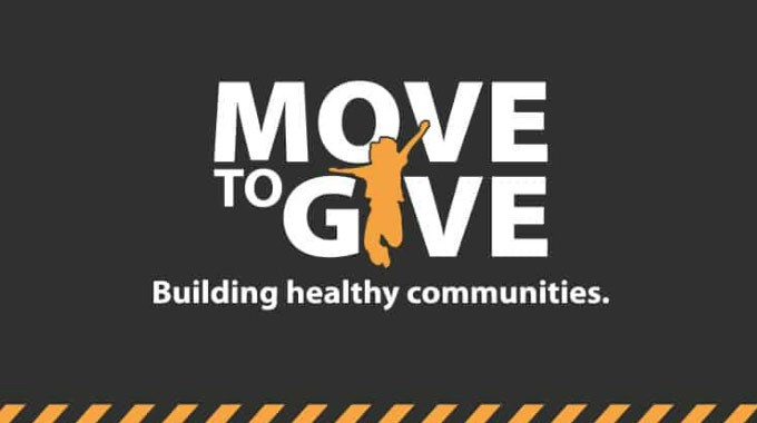 Move To Give. Building Healthy Communities
