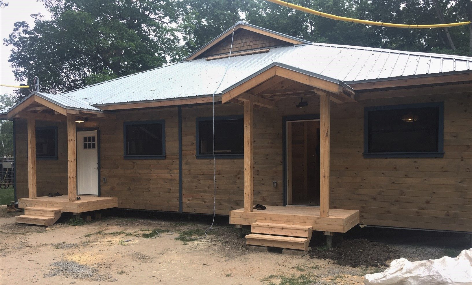 Building For The Future – YMCA Geneva Park Sustainable Cabin Project