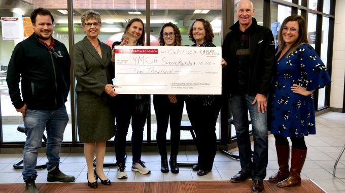 Gore Mutual Foundation In Partnership With Noble Insurance Donates $10,000 To YMCA Of Simcoe/Muskoka