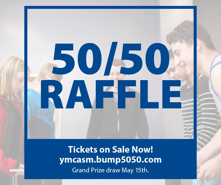 50/50 Draw ymcasm.bump5050.com