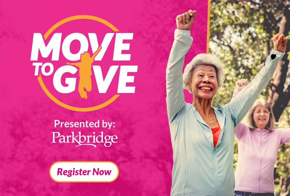 Move to Give. Register Now