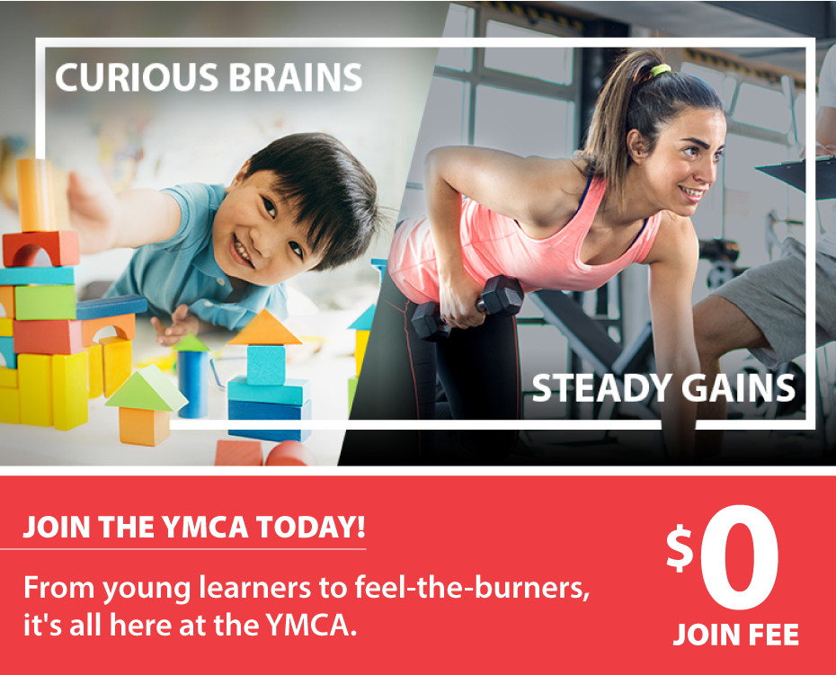 Join the Y Health, Fitness, and Aquatics